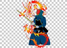 Shuhari武术绘图,战士PNG剪贴画龙,生日快乐矢量图像,虚构人物,战