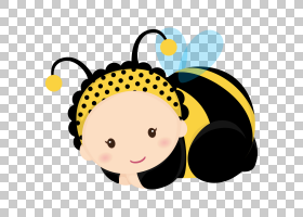 Bumblebee Baby shower婴儿,urso PNG剪贴画蜜蜂,孩子,脸,昆虫,笑