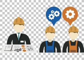 建筑工程公司管理业务,工业工人和工程师PNG剪贴画建筑,公司,服务