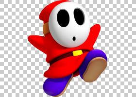 Shy Guy Mario Bros. Luigis Mansion,马里奥PNG剪贴画英雄,任天图片