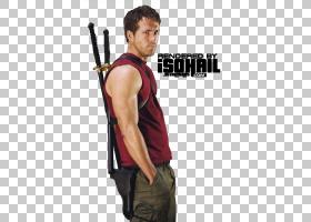 Ryan Reynolds Deadpool X战警起源,Wolverine,x-men PNG剪贴画名
