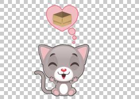 小猫胡须猫,快乐猫PNG剪贴画哺乳动物,动物,猫像哺乳动物,食肉动