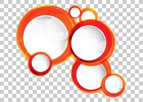 橙色圆形图案PNG剪贴画摄影,图案,几何图案,圆圈,复古图案,封装Po