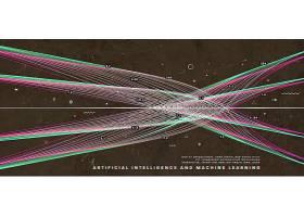 单色科技网络信息数据坐标数据代码背景