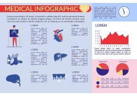 医疗卫生健康主题图文插画信息展示