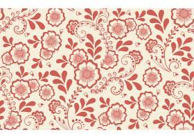 时尚简洁植物花卉主题矢量装饰背景设计