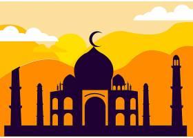 阿拉伯开斋节伊斯兰主题背景设计