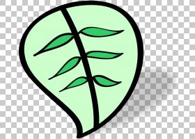 绿色绿叶PNG剪贴画杂项,叶子,其他,桌面墙纸,封装的PostScript,符图片