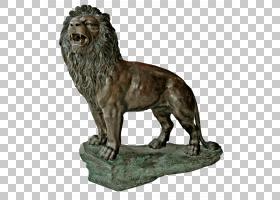 狮子雕像石雕,狮子座PNG剪贴画动物,猫像哺乳动物,食肉动物,陆生