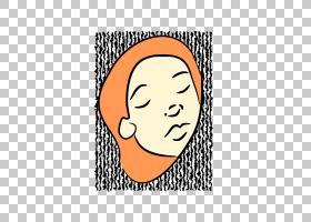 笑脸,女孩睡PNG剪贴画杂,面,文本,矩形,其他人,头,笑脸,女人,头发图片