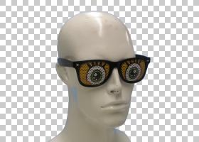 太阳镜护目镜眼镜,脚PNG剪贴画万圣节服装,睡眠,派对,眼镜,眼睛,图片