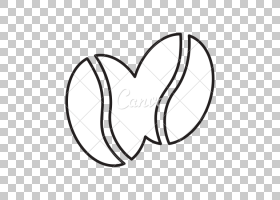 摄影绘图,咖啡豆PNG剪贴画爱,角,白,叶,文字,摄影,心脏,单色,买断图片