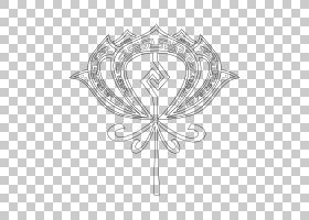 荷叶PNG剪贴画白色,叶,对称,花卉,莲花,开花植物,视觉艺术,树,黑