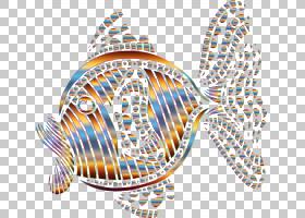 抽象艺术抽象PNG剪贴画对称性,颜色,剪影,抽象艺术,点,生物,线,鱼