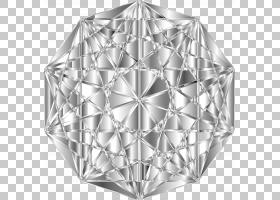宝石PNG剪贴画宝石,角,钻石,单色,对称,画框,景观,装饰艺术,线,21