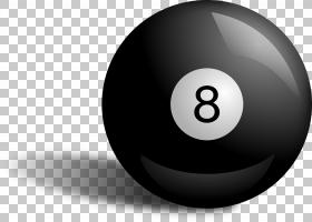 台球八球台球池,池游戏PNG剪贴画电脑壁纸,球体,运动,斯诺克,版税