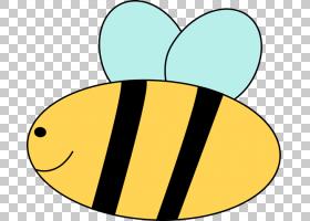 蜜蜂免费内容可爱,声音的PNG剪贴画文本,网站,可爱,地区,stockxch