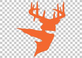 麋鹿白尾鹿大型猎物,白鹿PNG剪贴画鹿茸,游戏,动物,叶,手,橙色,剪图片