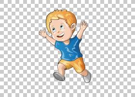 绘图插图,时尚的蓝色连衣裙黄色头发男孩PNG剪贴画蓝色,游戏,儿童