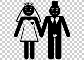符号新郎婚礼订婚婚姻,大陆剪影新娘PNG剪贴画杂项,婚礼,徽标,新图片