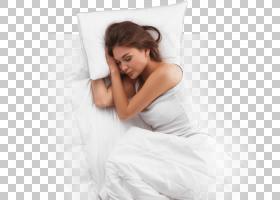 床垫枕头床记忆泡沫睡眠,女孩睡眠PNG剪贴画家具,女孩,行业,泡沫,图片