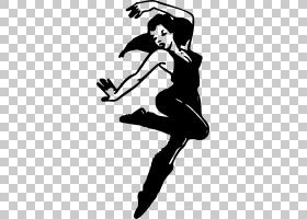 舞蹈工作室,舞者PNG剪贴画动物,手,人,免费舞蹈,单色,芭蕾舞者,虚图片