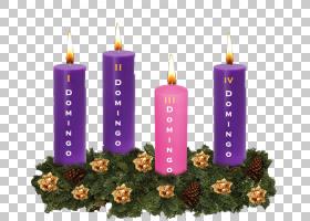 圣徒蜡烛神出现,日冕PNG剪贴画紫色,装饰,蜡烛,祈祷,宗教,信仰,人图片
