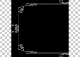 框架装饰艺术,装饰框架PNG剪贴画杂项,角度,矩形,其他,黑色,图片