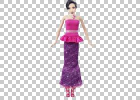 芭比娃娃,花园芭比拉奎尔的仙女秘密仙女,芭比PNG剪贴画紫色,洋红