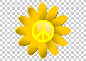 花,和平标志PNG剪贴画向日葵,电脑壁纸,花卉,水果,艺术,花瓣,和平