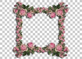 花园玫瑰花艺设计切花人造花,花PNG剪贴画框架,插花,头发配件,人图片