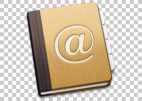 地址簿macOS谷歌联系人,地址PNG剪贴画材料,水果坚果,电子名片,时图片