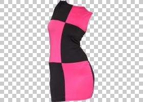 婚纱礼服服装小黑裙,连衣裙PNG剪贴画时尚,派对礼服,洋红色,活跃图片