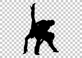 拉丁舞交谊舞剪影莎莎,舞者PNG剪贴画动物,摄影,手,人,芭蕾舞者,图片