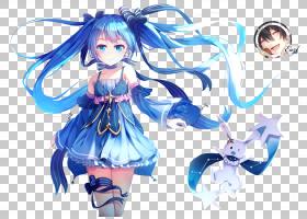 初音未来Vocaloid动漫Megurine Luka Yuki,初音未来PNG剪贴画cg图图片