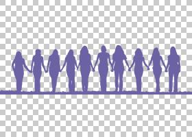 友谊剪影女人剪影PNG剪贴画爱,紫色,动物,紫罗兰色,文本,摄影,友图片