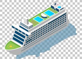 水彩纹理客船水彩画,客船材料PNG剪贴画生日快乐矢量图像,运输,材图片