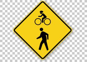 人行横道交通标志警告标志道路PNG剪贴画角,文本,三角形,警告标志