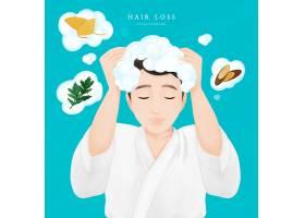 洗发护发广告