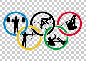 卡通金奖,圆,符号,徽标,面积,线路,文本,黄色,冬奥会,夏季奥运会,