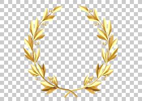 水彩花环,分支,树,商品,叶,草族,水彩画,花,橄榄花环,加兰,金叶,