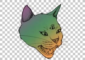 迷幻艺术绘画艺术家外星人PNG clipart哺乳动物,脸,猫喜欢哺乳动