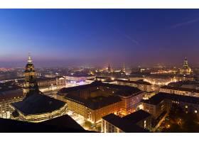 城市,城市,城镇,大都市,建筑物,摩天大楼,天空,夜晚,灯光,壁