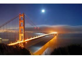 金色的,大门,桥梁,壁纸,(3)