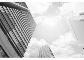 商务城市背景