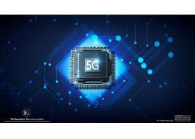 5G时代主题创意信息科技背景设计