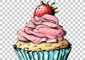生日蛋糕画,奶油,冷冻甜点,风味,水果,草莓,甜点,草莓,海报,食物,