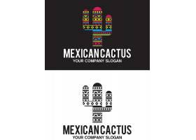 创意仙人掌logo设计