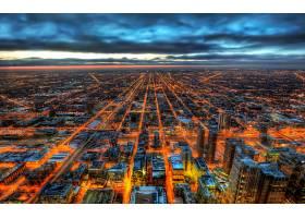 芝加哥,城市,一致的,州,直接热轧制,壁纸,