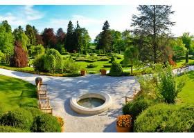花园,风景,风景优美的,壁纸,(1)